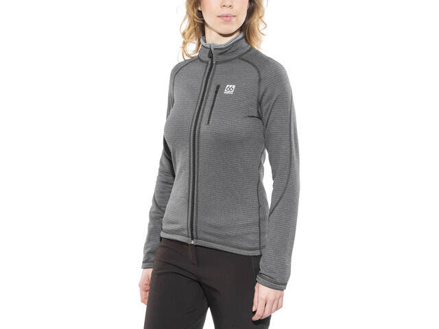 66° North Grettir Veste Femme, lavic grey/black